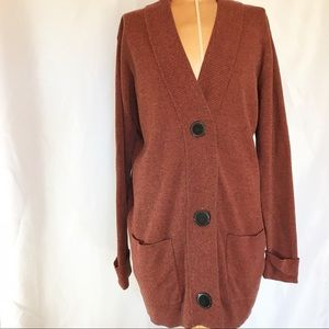 Coldwater Creek button up long S cardigan